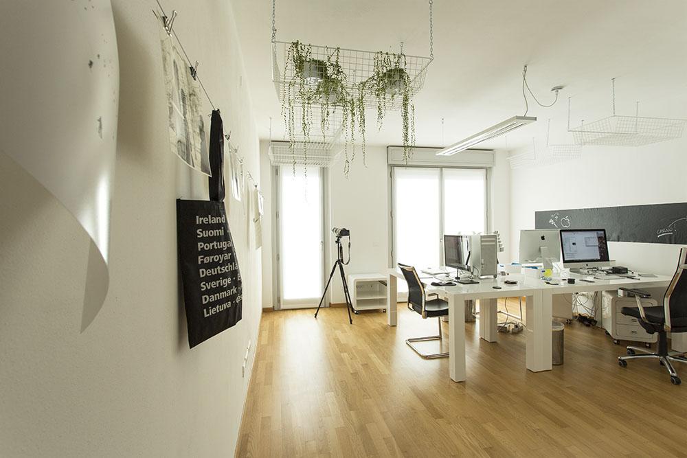 Uffici Visualworld Bergamo. Produzione Video